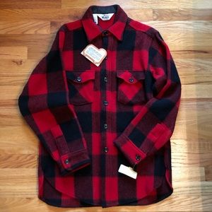 Woolrich Buffalo Plaid Wool Shirt